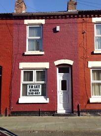 2 bedroomed house (Greanleaf st ) L8 off smithdown Rd