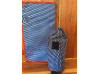 Baby Changing Travelling Mat and thermal bag