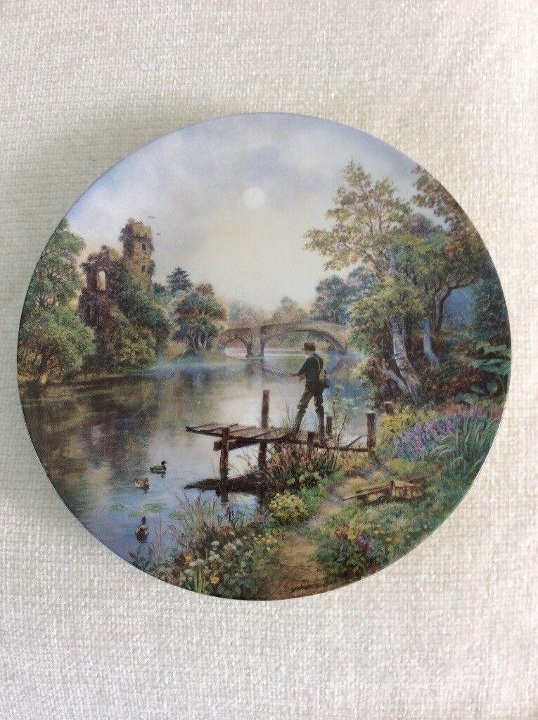 6 Danbury Mint collectible plates