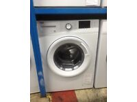 Beko white washing machine. 7kg 1400spin A+++ energy rated. £179. New/graded 12 month Gtee