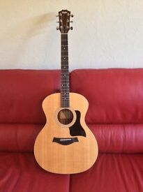 Taylor 114E acoustic guitar with Taylor gig bag