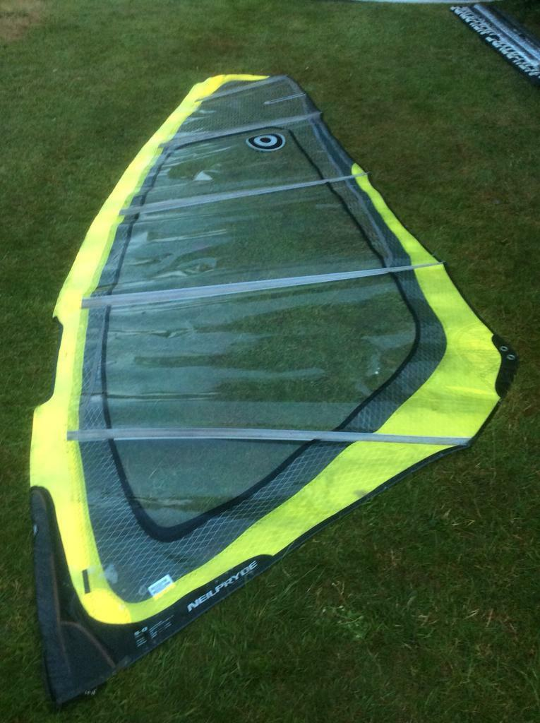 Neil Pryde Search wave sail 5.0m2 - virtually new condition