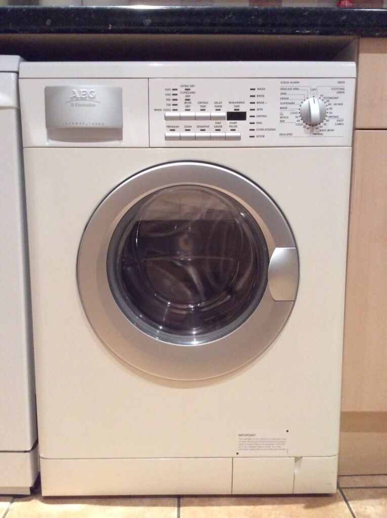 aeg electrolux lavamat turbo 16830 washer dryer for sale fantastic appliance in beaconsfield. Black Bedroom Furniture Sets. Home Design Ideas