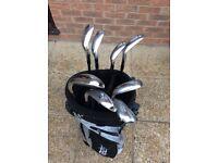 Set of MacGregor M455 V Foil Forged Irons