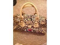 Leopard print Paul's Boutique bag