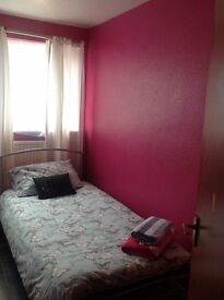 Single bedroom in Bletchley offered to rent to a Lady. £250 pcm inclusive.