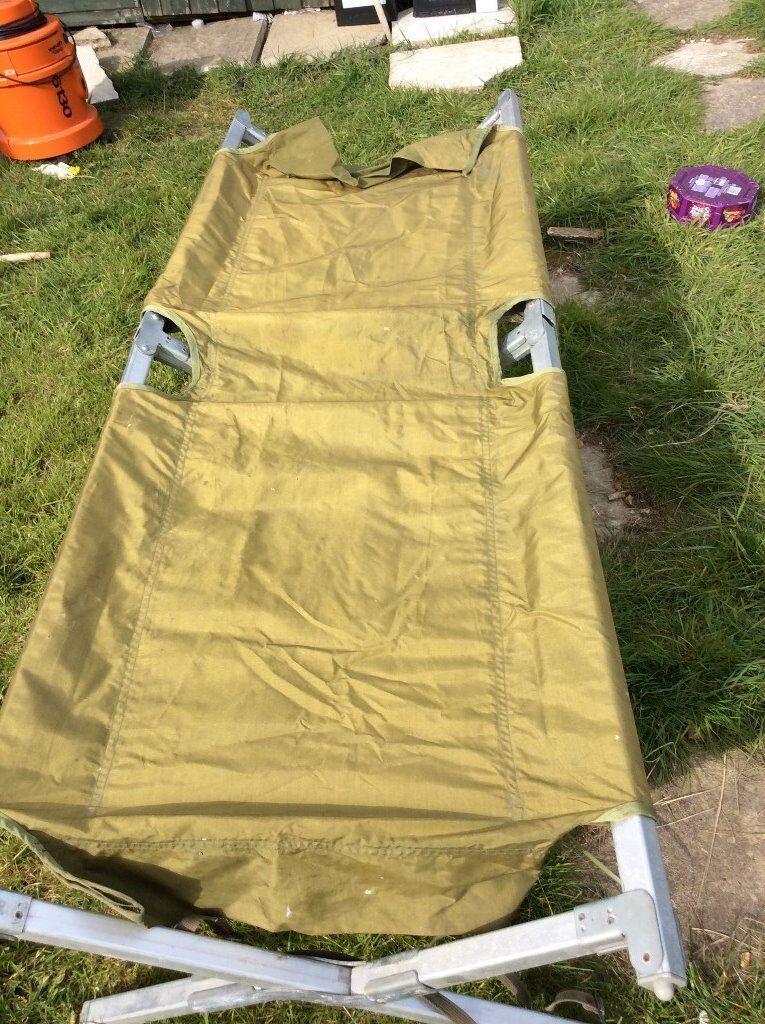 german army camp bed