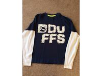 Boys Duffs long sleeved top. Aged 10