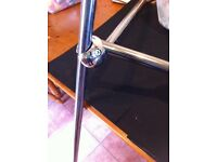 Bright Chrome 3 way Tri Clamps For Shop Display