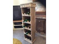 Hand made wine rack great Christmas present dining room kitchen living room