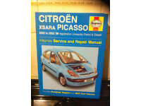 Haynes Manual, Citreon Picasso 00-02
