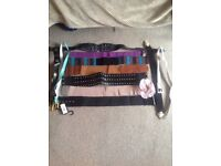 Collection of ladies belts £4