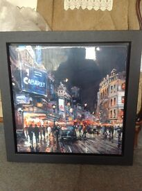 London by night by the amazing Henderson Cisz. Limited edition with certificate of authenticity