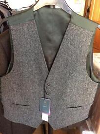 M&s Waistcoat (Brand New) Abraham Moon