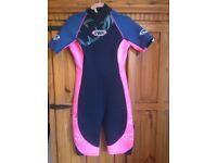 Ladies TWF Shortie wetsuit Uk14 £8