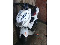 Yamaha aerox braking 2012