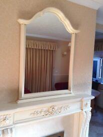 John Lewis Over Mantel Mirror