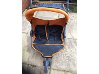 Silvercross dolls double pushchair