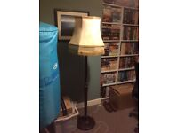 Vintage lamp and shade, 1940s, full working order