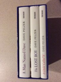 Brand New Child called It Dave Pelzer Boxed x 3 Book Set £8.00