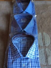 3 New with Tags TM Lewin Mens Shirts size 18 collar