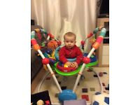 Baby Einstein activity jumper- £40