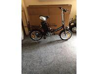 Dillenger 16 electric folding bike