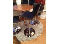 Adjustable kitchen swivel chairs 4