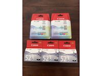 Brand new canon ink cartridges