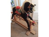 Rocking Horse vintage 100c Hight in good condition made by COLLINS very good quality