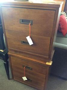 Mid Century Campaign Night Stands
