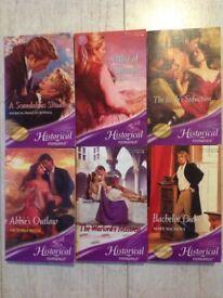 6 Books of Historical Romance