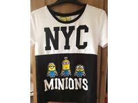 MINIIONS ILLUMINATION NYC T shirt size S