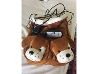 Foot Massager Snuggle Pups, Used Once, 2 speed setting