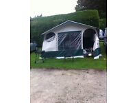 Folding camper Conway challenger with full awning in good condition