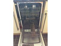 Belling slimline integrated dishwasher