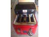 Kenwood KMix 4 slice toaster (red)
