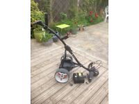 Motocaddy s1 golf trolley only 15 months old