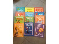 Batch of 12 Dr. Seuss kids reading books £14