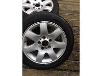 Bmw genuine wheels X 5