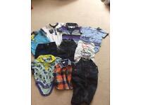 Boys 0-3 Ted Baker clothing bundle