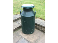 """MAKE YOUR GARDEN STAND OUT WITH THIS - Milk Churn (AND unused associated """"how to paint"""" book)."""