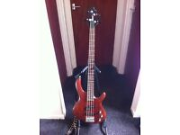 Cort Action 4 string Bass with strap and soft carry case (cash on pick up) (pick up only)