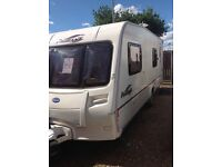 Bailey pageant Bretange 2006 6 berth with motor mover battery porch awing