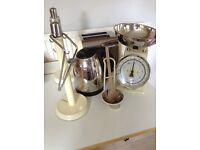 Kitchen items. Cream typhoon