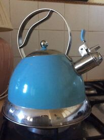 Blue whistle Kettle