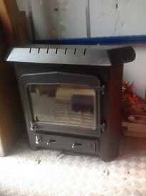 Woodwarm multifuel inset stove 6.5kw