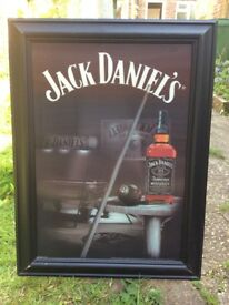 Jack Daniels RARE 3D picture large. Discontinued