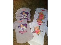 Brand new Barbie tops. Age 2-3 and 3-4