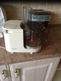 Kenwood food processor and cover
